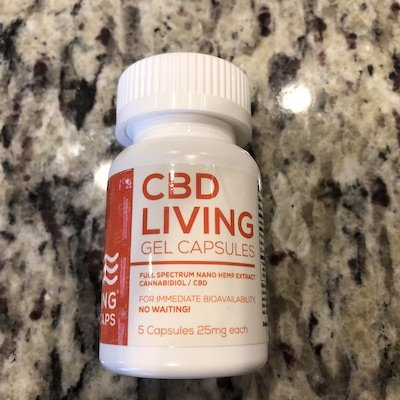 cbd living gel capsules