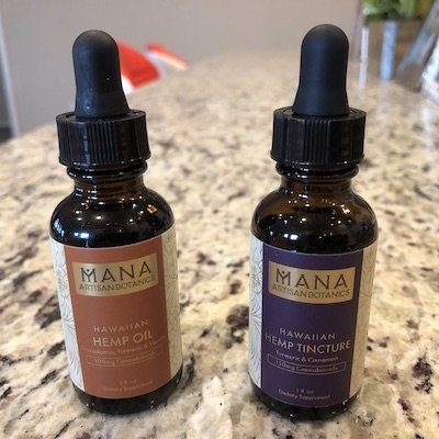 mana hemp oil and tincture