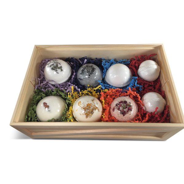 CBD Bath Bomb Gift Set Hari Om Hemp