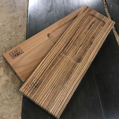 Leaf and Wood Rolling Plank