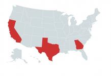 HEMP NEWS FROM TEXAS, CALIFORNIA AND GEORGIA